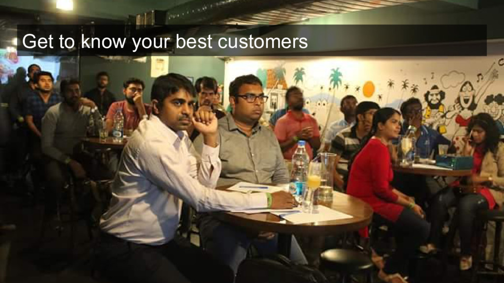 Get to know your best customers