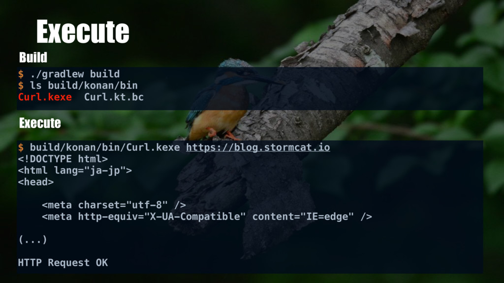 Execute Build Execute $ ./gradlew build $ ls bu...