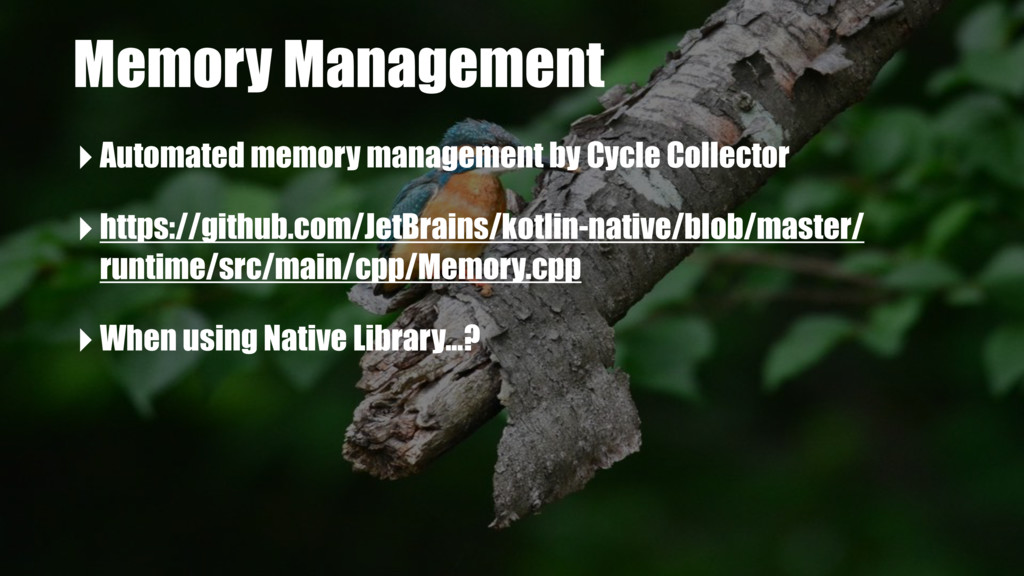 Memory Management ‣Automated memory management ...
