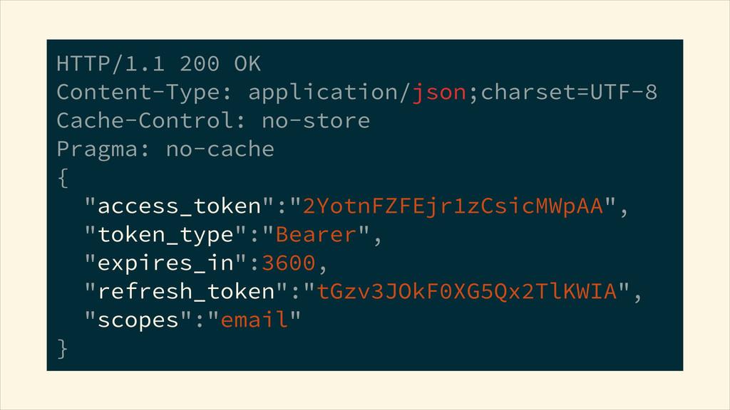 HTTP/1.1 200 OK Content-Type: application/json...