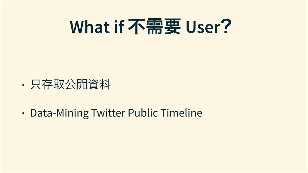 What if ҂ླေ UserĤ • ᆺթ౼܄Ῐ⊷ਘ • Data-Mining Twitt...
