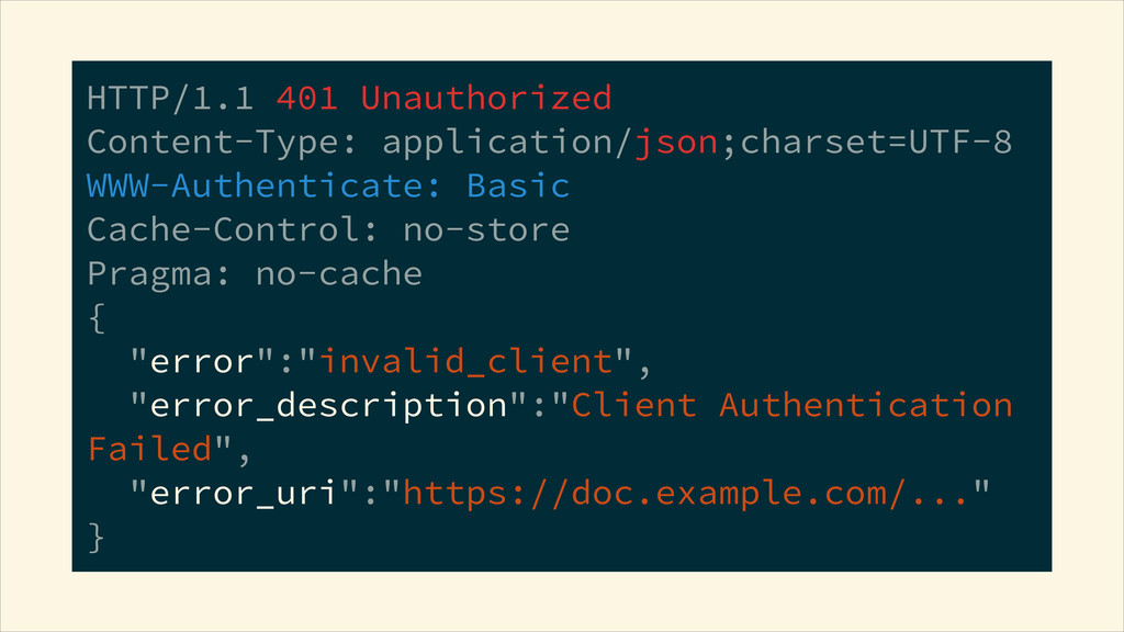 HTTP/1.1 401 Unauthorized Content-Type: applic...