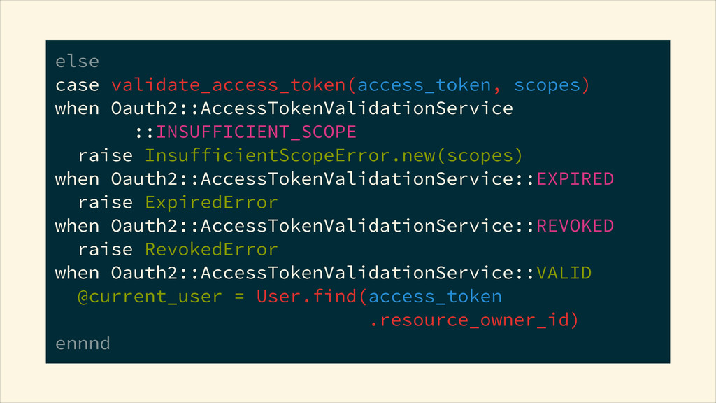 else case validate_access_token(access_token, ...