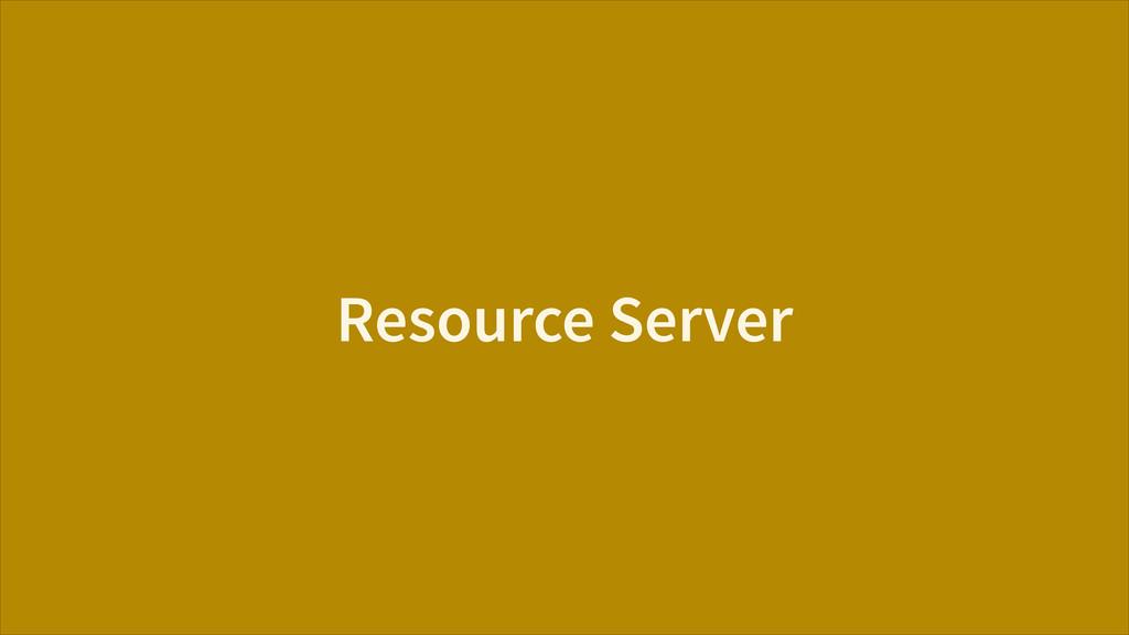 Resource Server