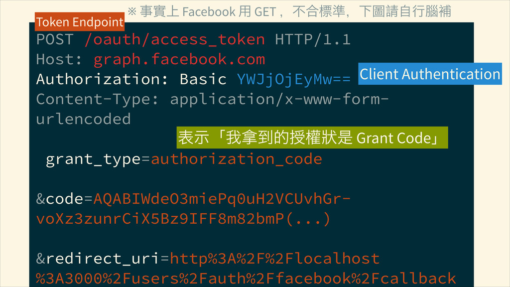 POST /oauth/access_token HTTP/1.1 Host: graph....