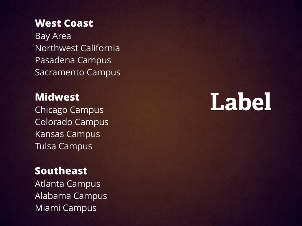 West Coast Bay Area Northwest California Pasad...