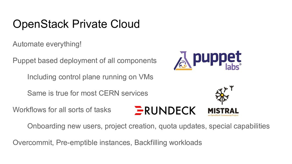 OpenStack Private Cloud Automate everything! Pu...