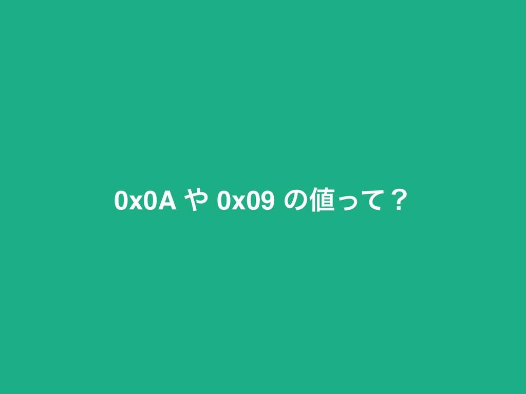 0x0A  0x09 ͷͬͯʁ