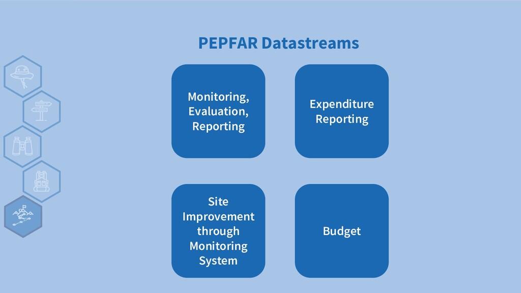 PEPFAR Datastreams Monitoring, Evaluation, Repo...