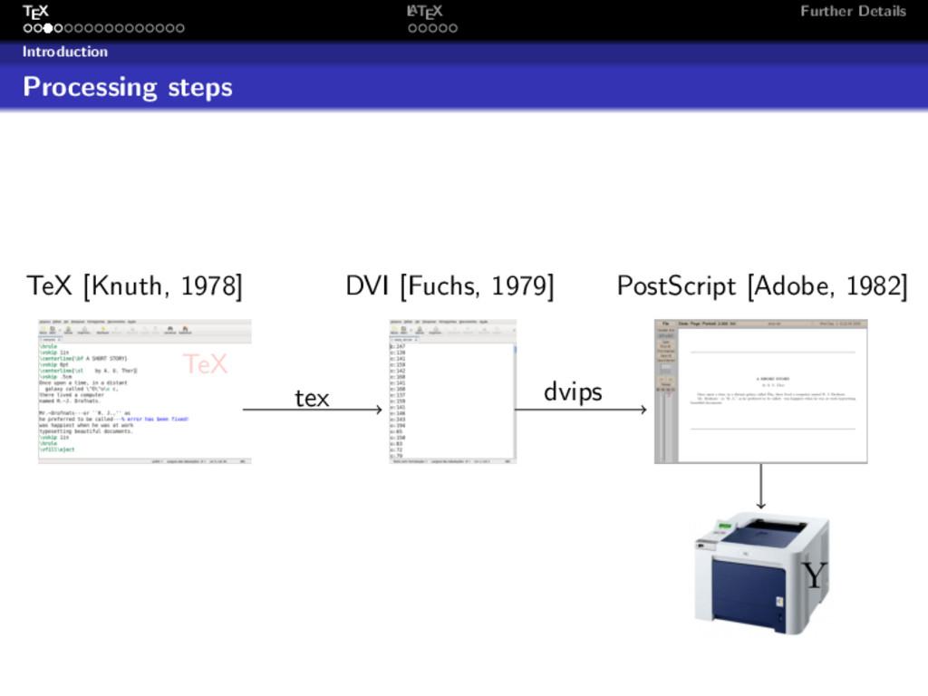 TEX L ATEX Further Details Introduction Process...