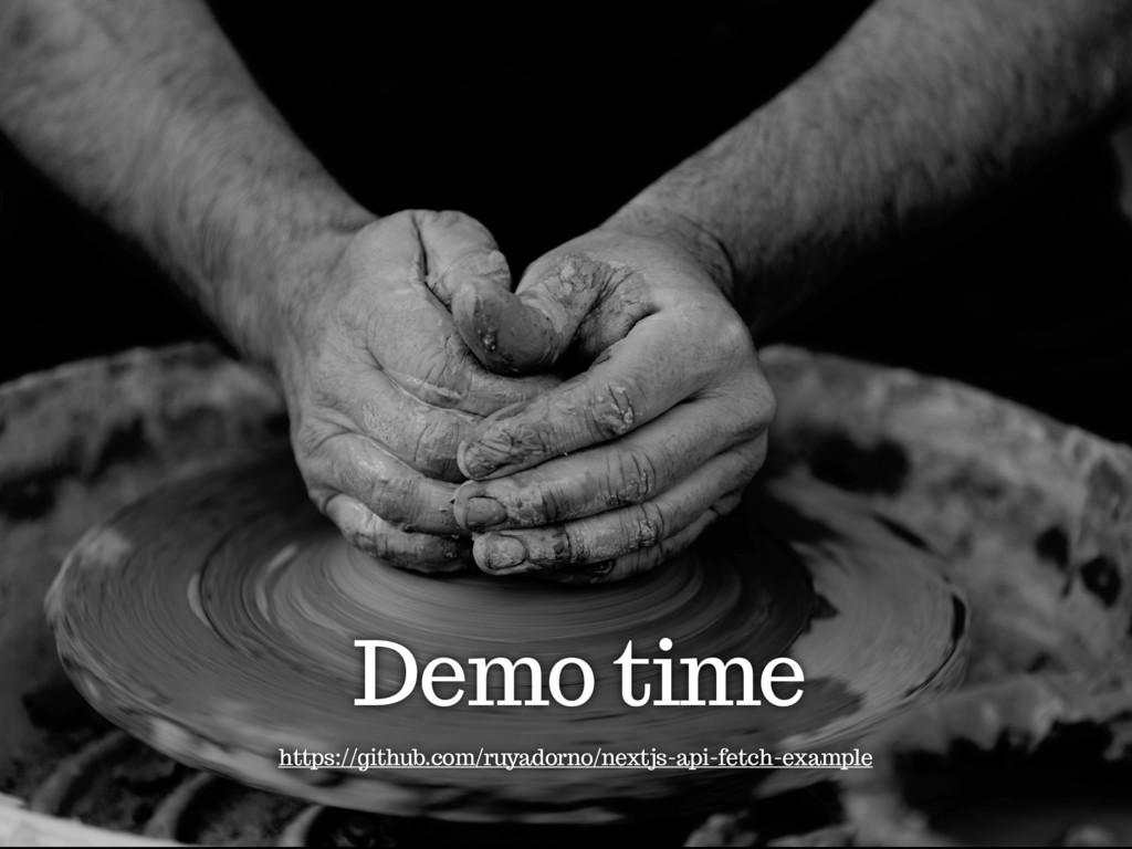 Demo time https://github.com/ruyadorno/nextjs-a...