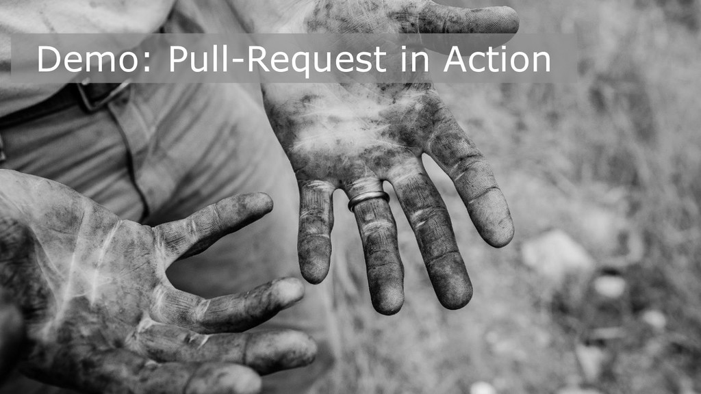 Demo: Pull-Request in Action