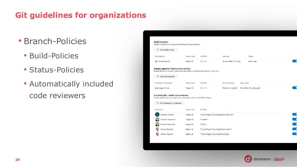 • Branch-Policies • Build-Policies • Status-Pol...