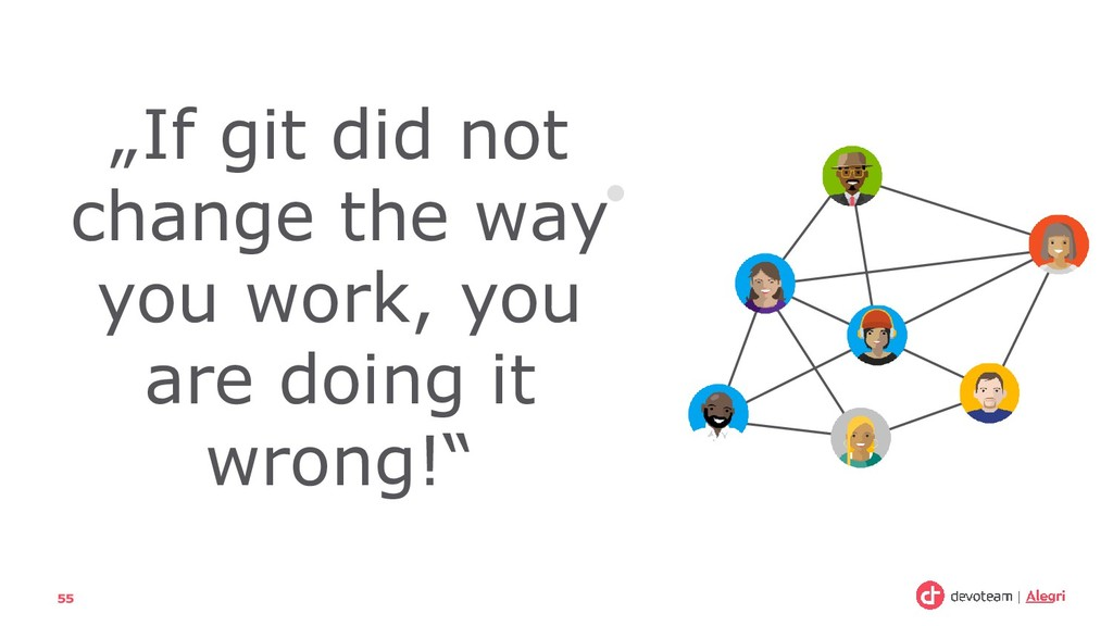 """55 """"If git did not change the way you work, you..."""