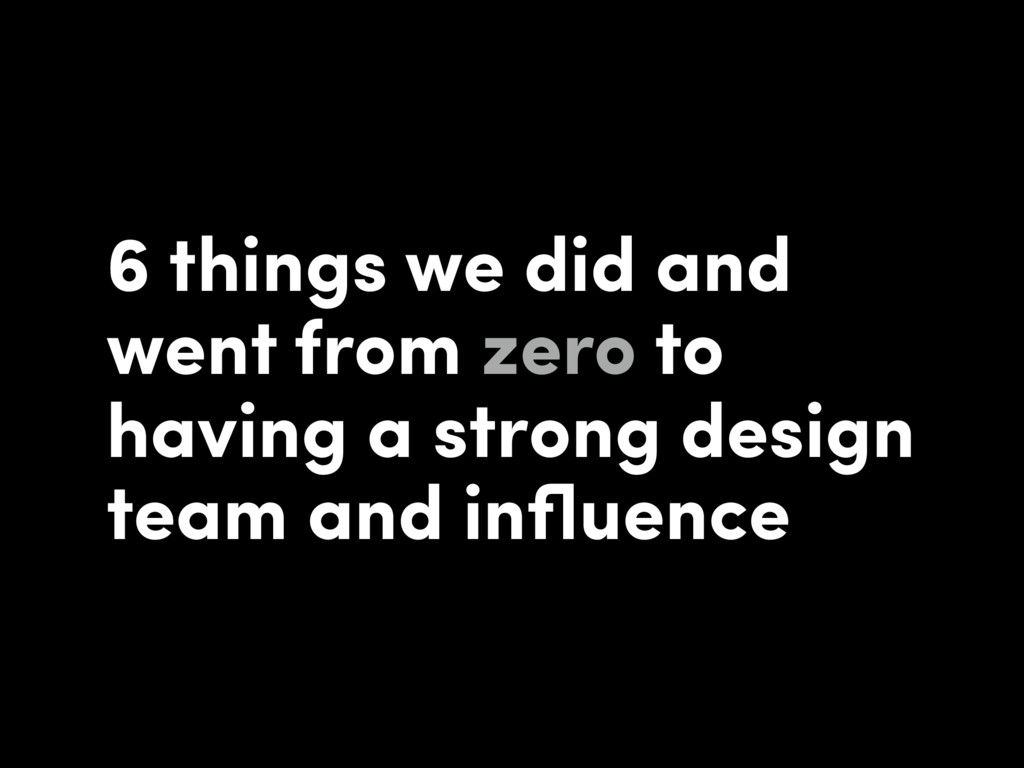 6 things we did and went from zero to having a ...