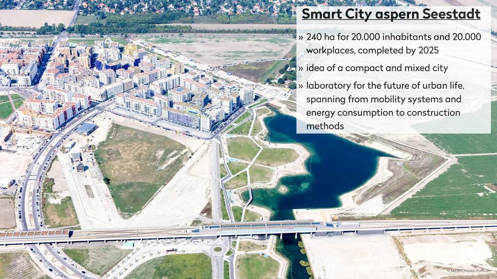 Smart City aspern Seestadt » 240 ha for 20.000 ...