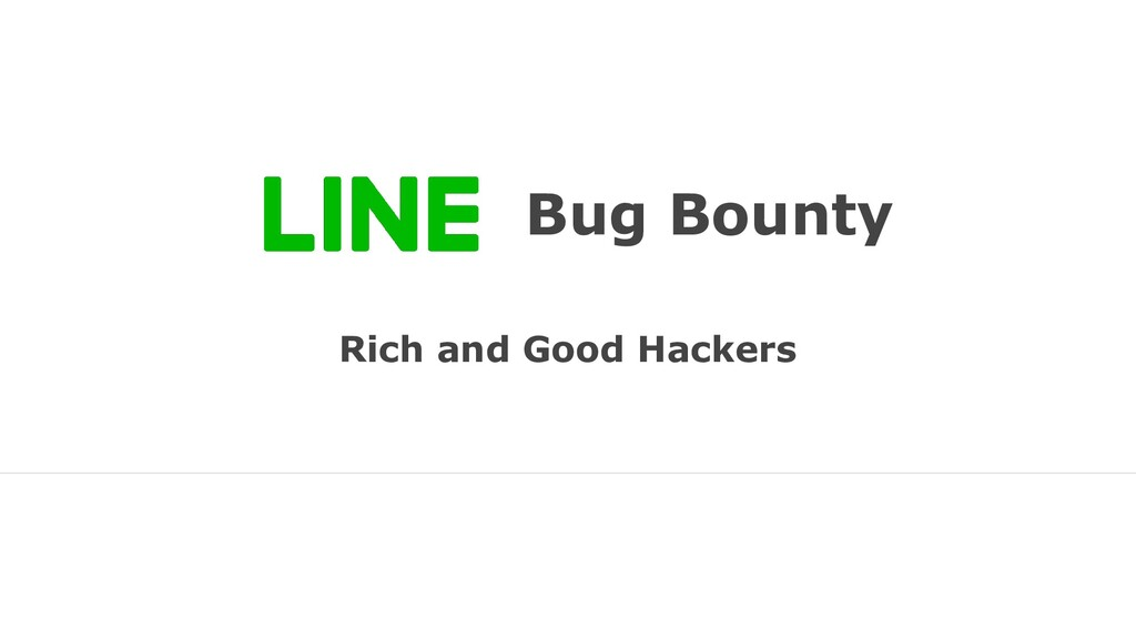 Bug Bounty Rich and Good Hackers