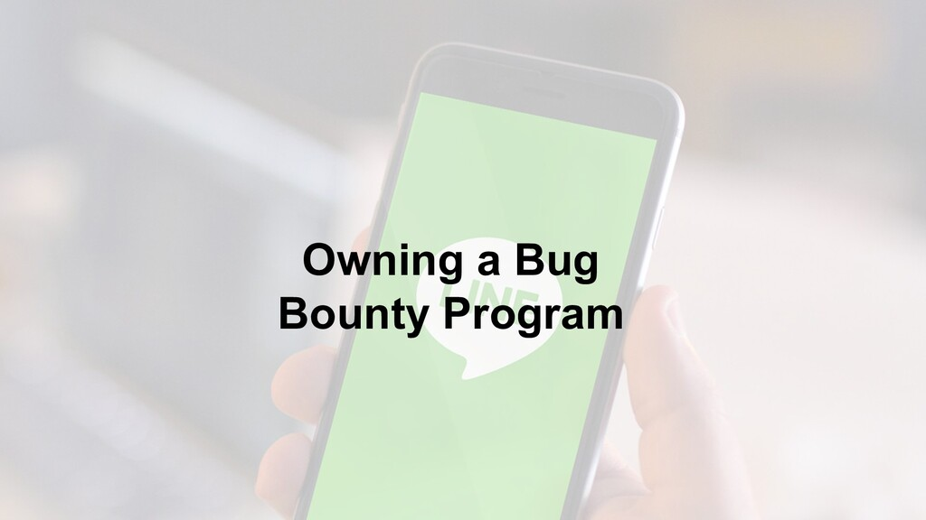 Owning a Bug Bounty Program