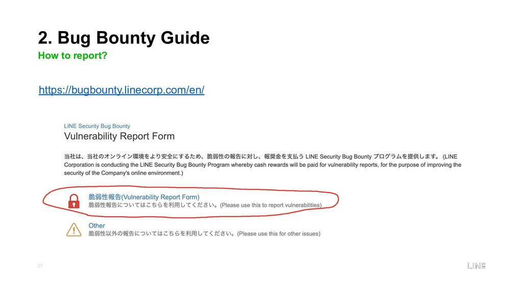 27 2. Bug Bounty Guide How to report? https://b...