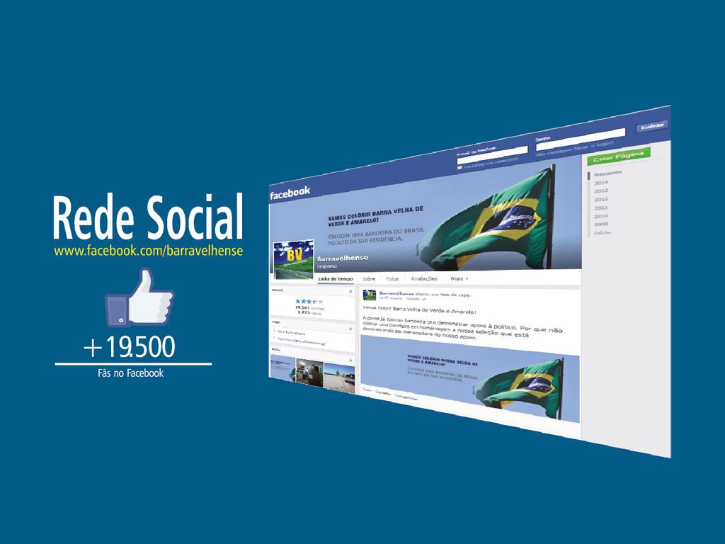 Rede Social www.facebook.com/barravelhense +19....