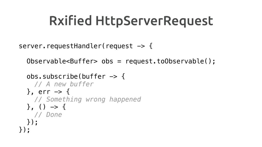 Rxified HttpServerRequest server.requestHandler(...