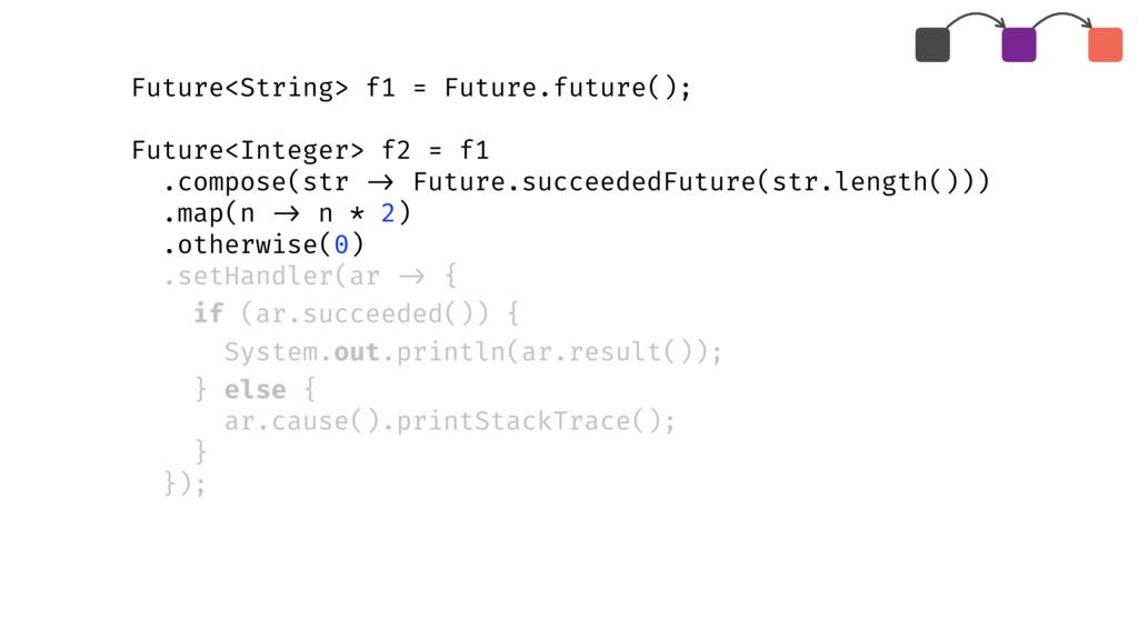 Future<String> f1 = Future.future(); Future<Int...