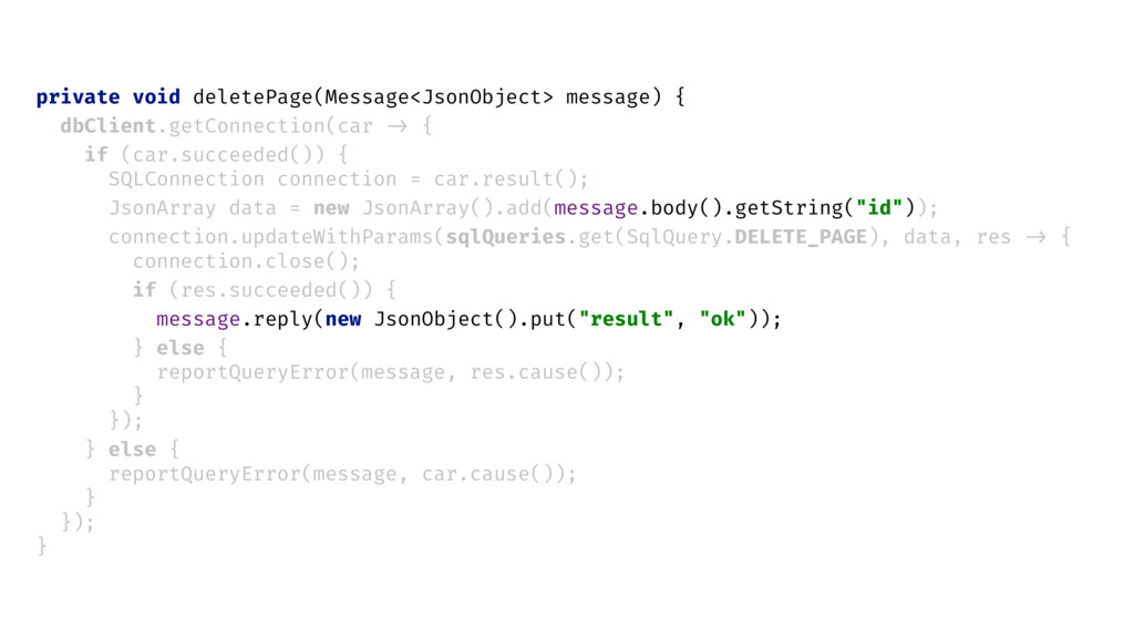 private void deletePage(Message<JsonObject> mes...