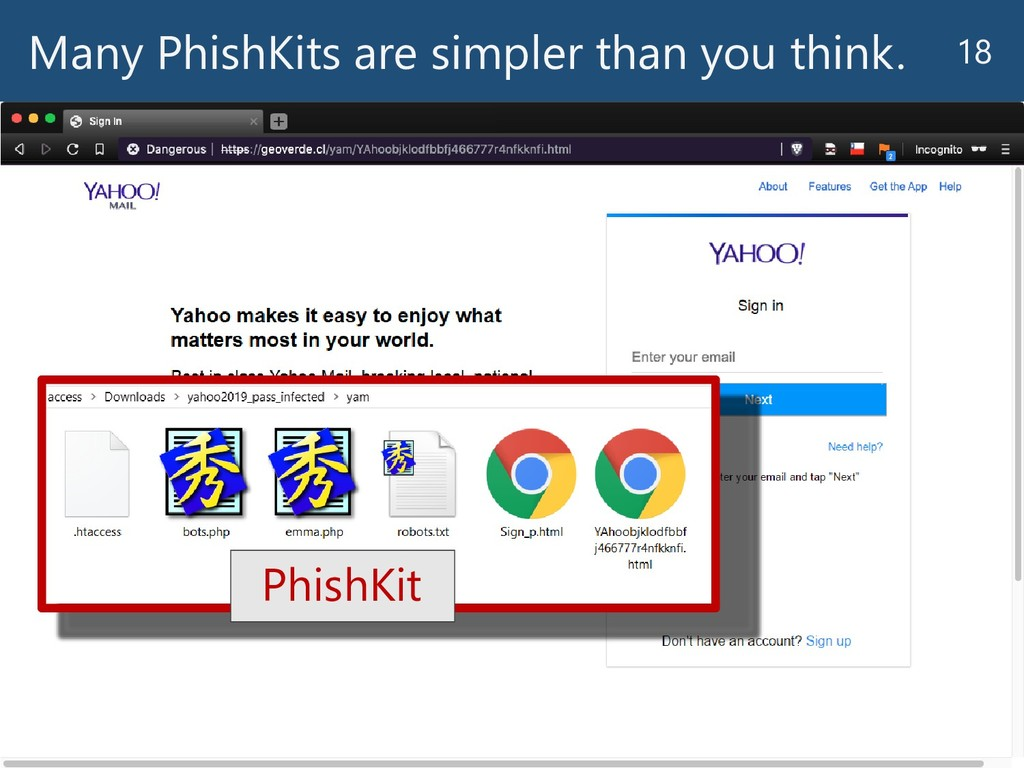 Many PhishKits are simpler than you think. 18 P...