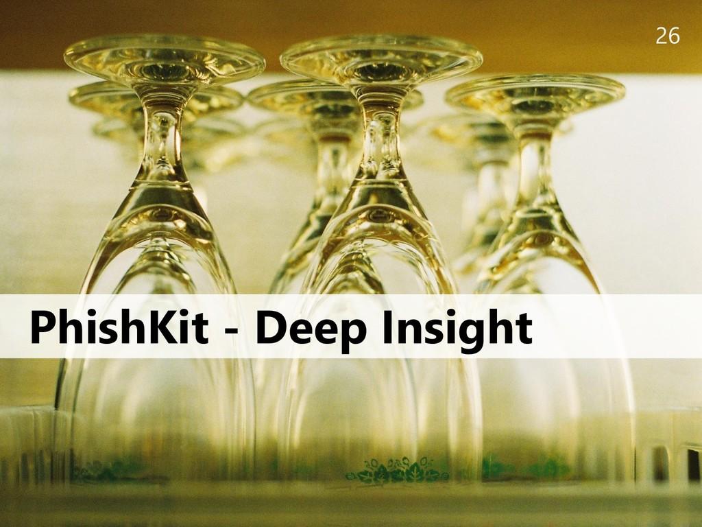 26 PhishKit - Deep Insight