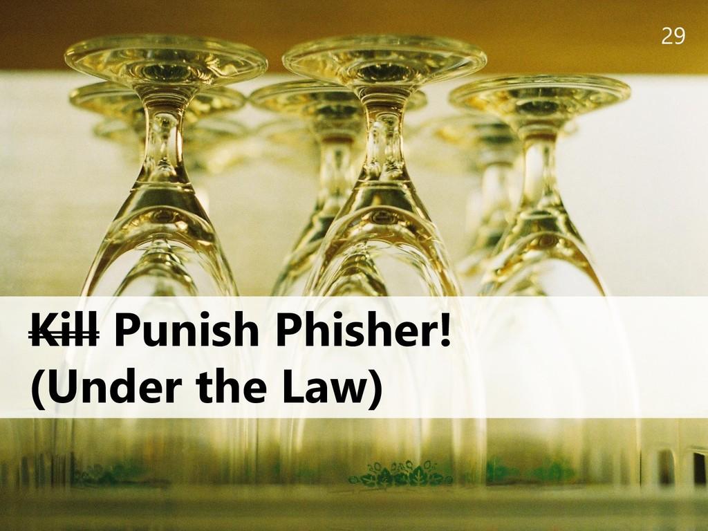 29 Kill Punish Phisher! (Under the Law)