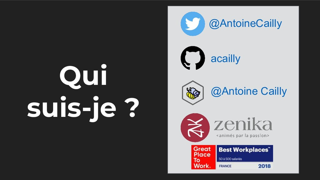 Qui suis-je ? @AntoineCailly acailly @Antoine C...