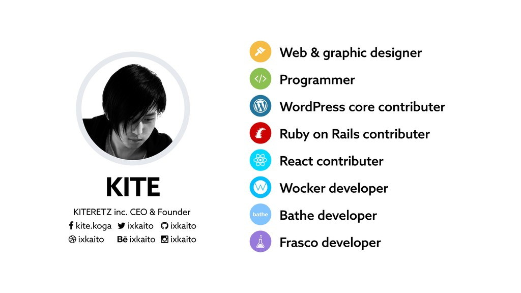 KITE KITERETZ inc. CEO & Founder ­ kite.koga ¬ ...