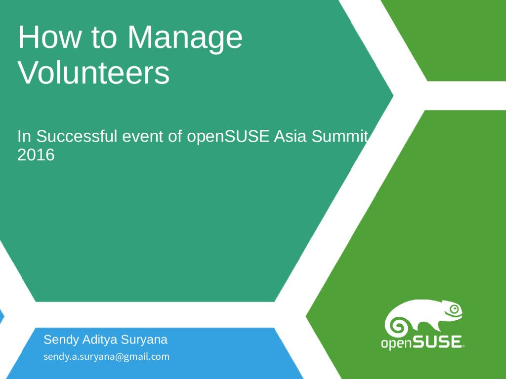 How to Manage Volunteers In Successful event of...