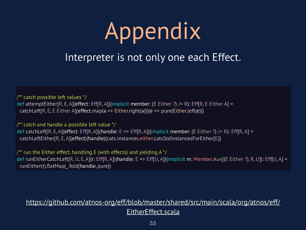 Appendix 53 Interpreter is not only one each Ef...