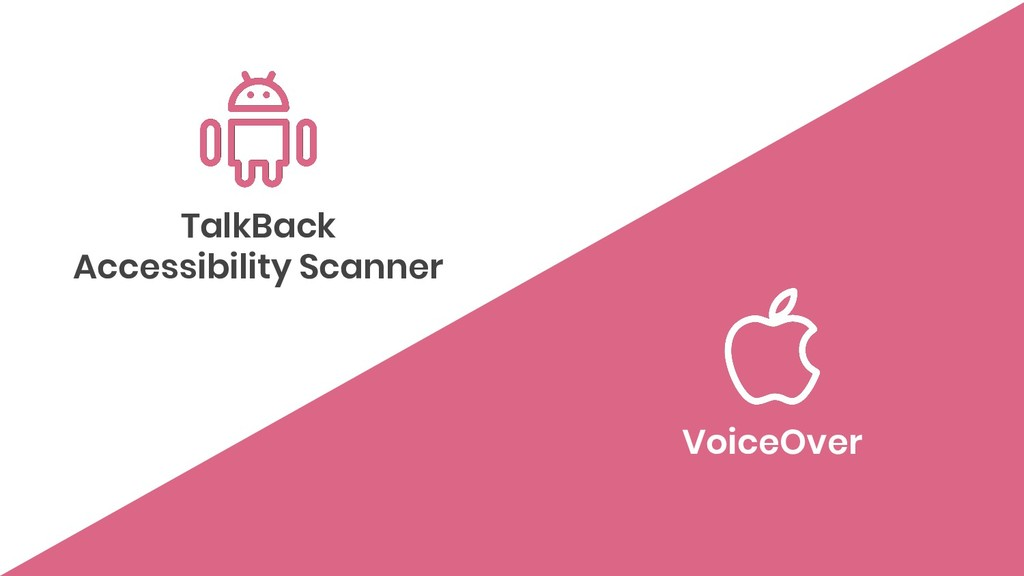 TalkBack Accessibility Scanner VoiceOver