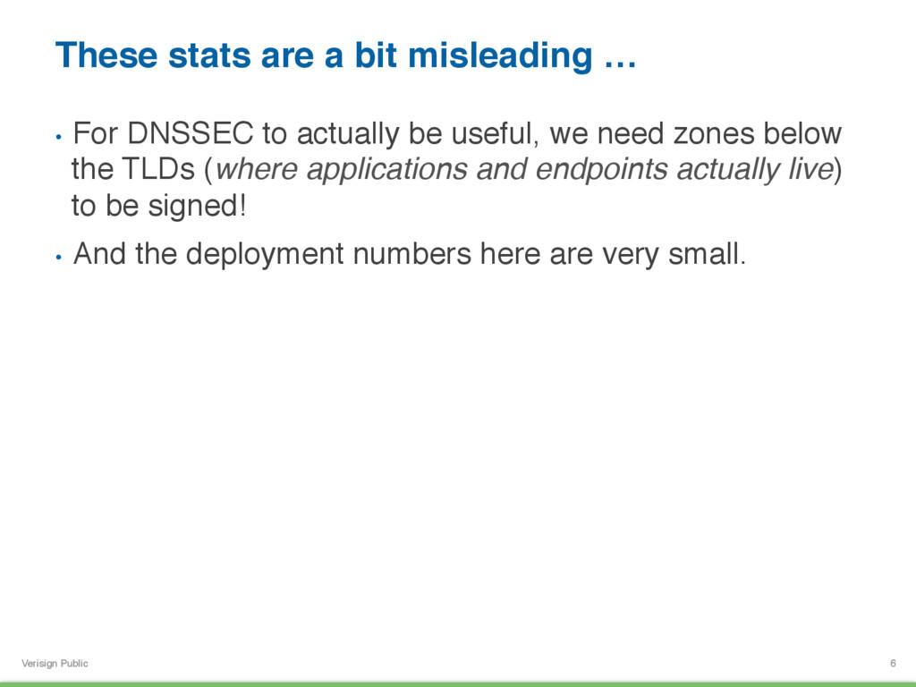 Verisign Public These stats are a bit misleadin...