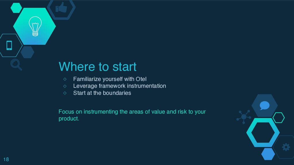 Where to start ◇ Familiarize yourself with Ote ...