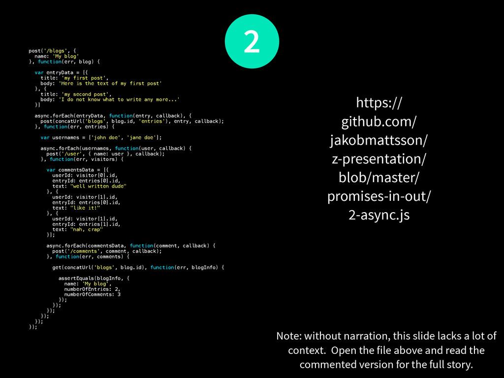 post('/blogs', { name: 'My blog' }, function(er...