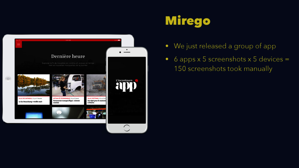 Mirego • We just released a group of app • 6 ap...