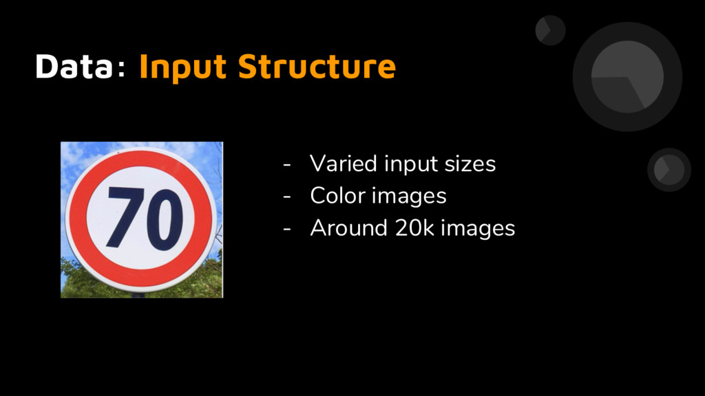 Data: Input Structure - Varied input sizes - Co...