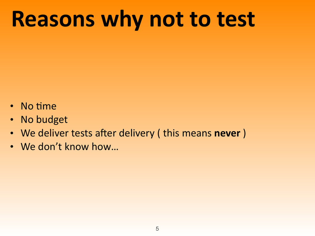 Reasons	