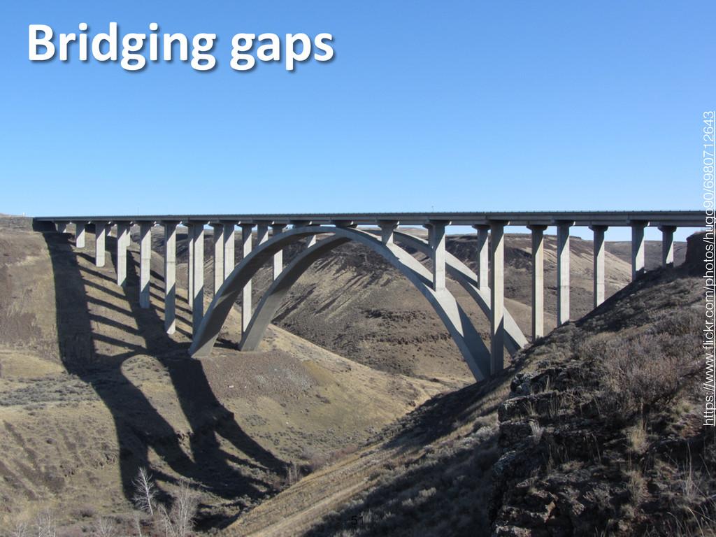 Bridging gaps 51 https://www.flickr.com/photo...