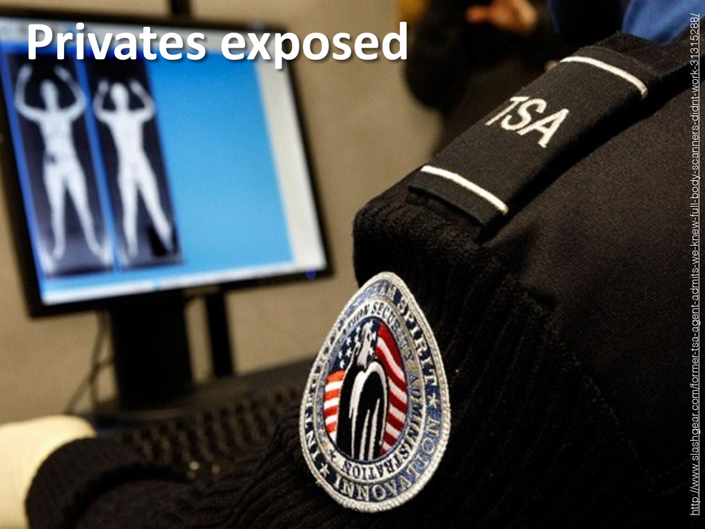 Privates exposed 52 http://www.slashgear.com...