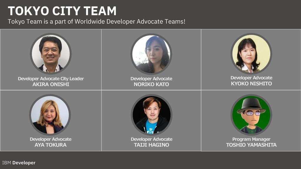 TOKYO CITY TEAM Tokyo Team is a part of Worldwi...