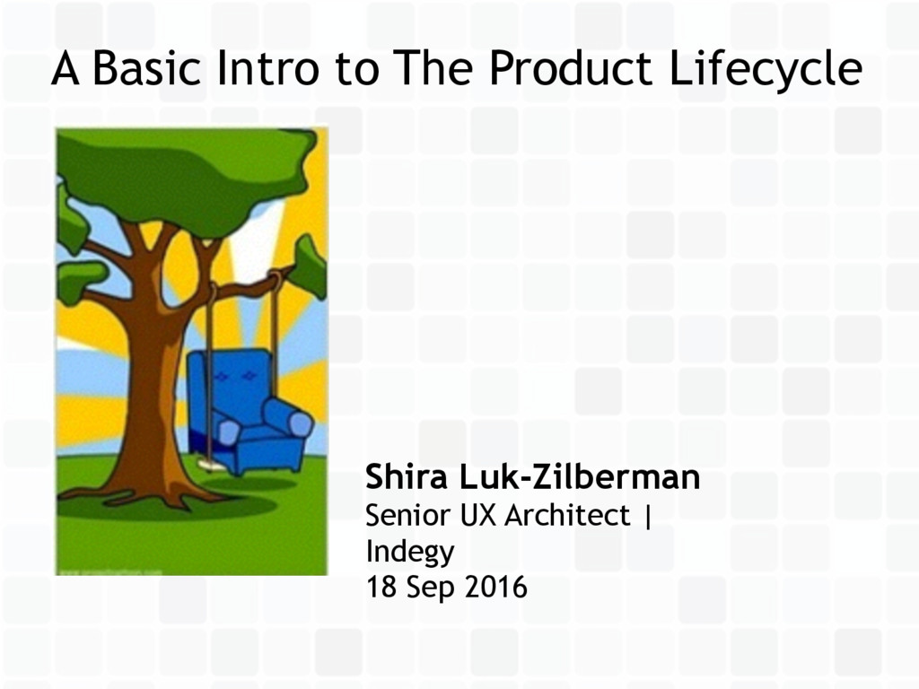 A Basic Intro to The Product Lifecycle Shira Lu...