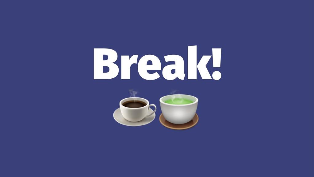 """Break!☕"""""""