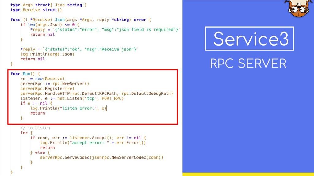 Service3 RPC SERVER