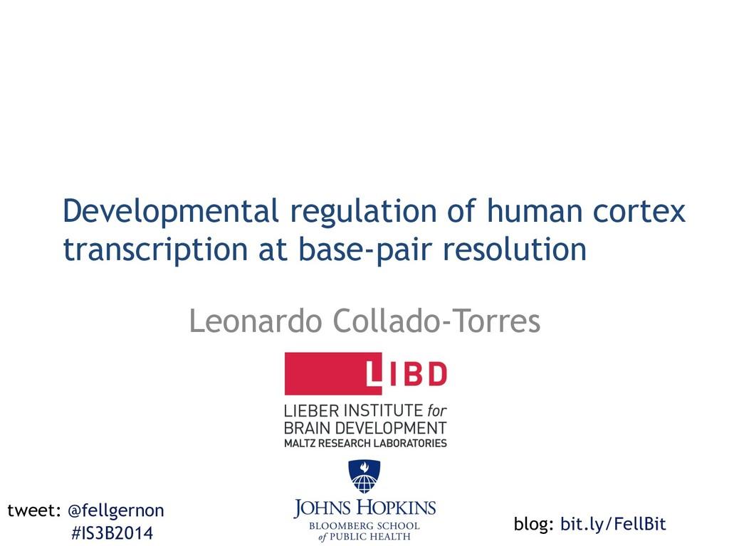Developmental regulation of human cortex transc...
