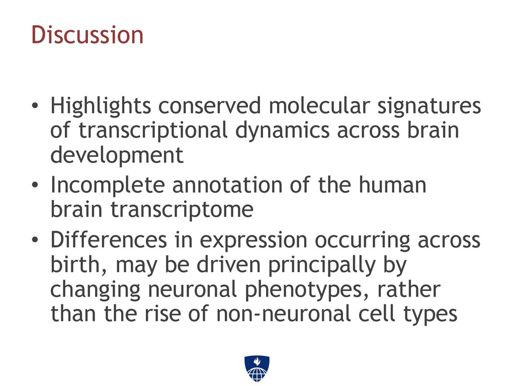 • Highlights conserved molecular signatures of...