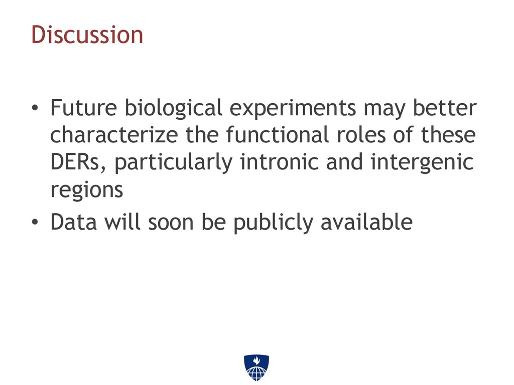 • Future biological experiments may better cha...